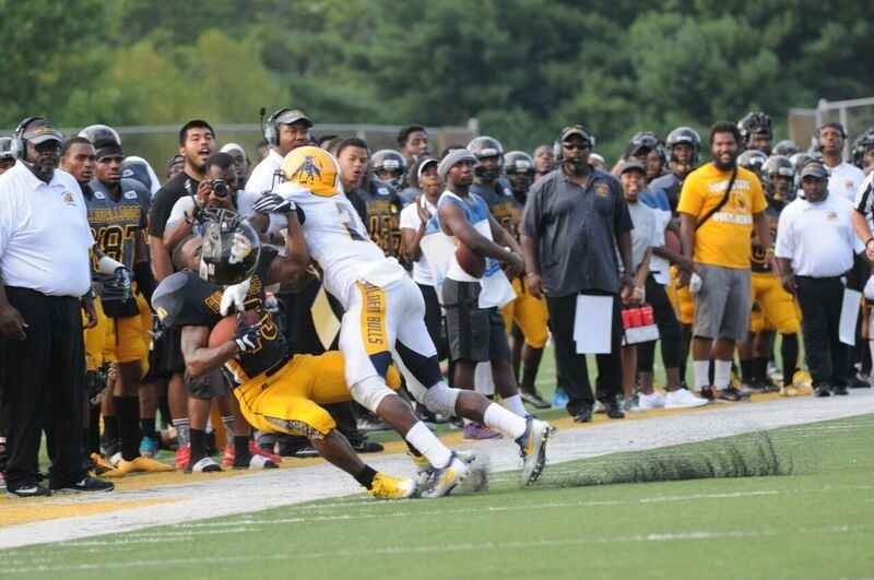 Bowie State Drops Jcsu Football Johnson C Smith University Athletics